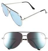 Quay x Desi Perkins 'High Key' 62mm Aviator Sunglasses