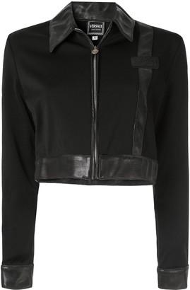 Versace Pre-Owned Cropped Long Sleeve Jacket