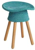 Umbra Woven Covered Wooden Stool