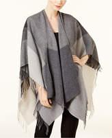 Eileen Fisher Colorblocked Wool Serape