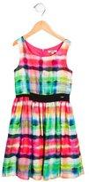 Junior Gaultier Girls' Tie-Dye Sleeveless Dress
