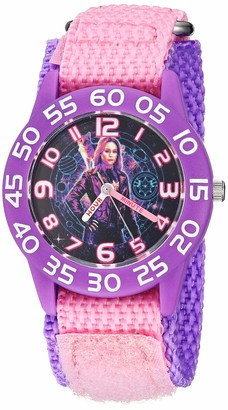 Marvel Girls Captain Analog-Quartz Watch with Nylon Strap