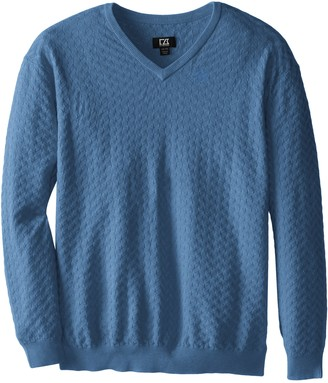 Cutter & Buck Men's Big-Tall Mitchell V-Neck Sweater
