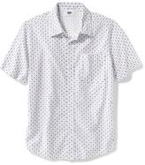 Old Navy Classic Printed Poplin Shirt for Boys
