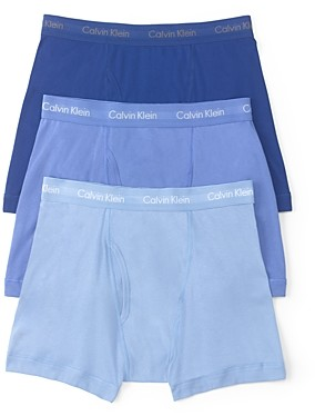 Calvin Klein Cotton Classics Boxer Briefs, Pack of 3