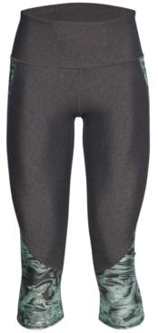 Under Armour Women's HeatGear Compression High-Rise Capri Leggings