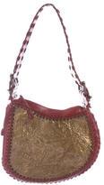 Fendi Oyster Leather Shoulder Bag