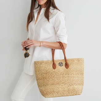 Mark And Graham Palm Leaf Tote