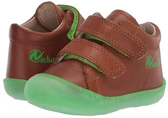 Naturino Cocoon VL SS20 (Toddler) (Brown) Boy's Shoes