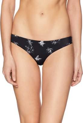 RVCA Junior's Danger Beach Cheeky Bikini Bottom