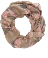 Charlotte Russe Camo Print Infinity Scarf
