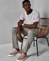 BLUETRO Linen suit trousers
