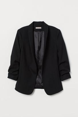H&M Shawl-collar Jacket - Black