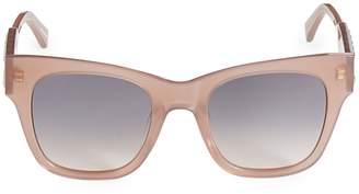 Rebecca Minkoff Tilden 55mm Gradient Squared Cat Eye Sunglasses