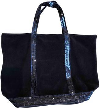 Vanessa Bruno Navy Suede Handbags