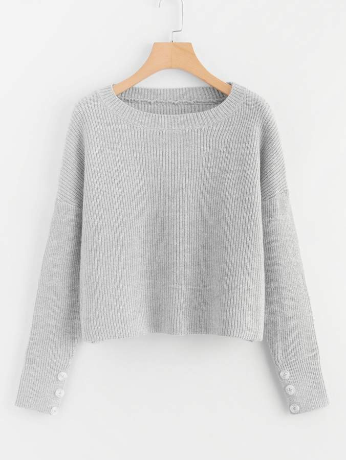 d98c3ed74a Grey Sweater - ShopStyle
