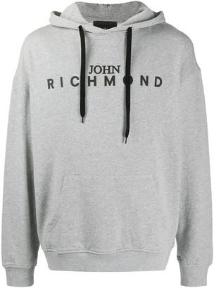 John Richmond Logo Printed Hoodies
