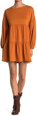 Kenedik Tiered French Terry Dress