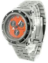 Nautec No Limit Men's Quartz Watch Deep Sea Professional Chronograph DS-P QG10/STOR2 with Metal Strap