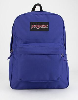 JanSport Black Label SuperBreak Violet Purple Backpack
