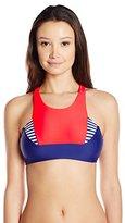Body Glove Women's Victory Krista High Neck Bikini Crop Top