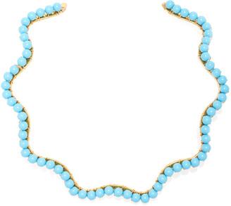 Beck Jewels A Bigger Splash Choker - Turquoise