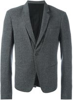Haider Ackermann stitching detail blazer - men - Rayon/Wool/Cotton - 48