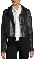 J Brand Adaire Leather Moto Jacket