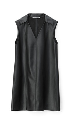 Alexander Wang Stretch Faux Leather Dress