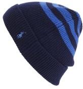 Polo Ralph Lauren Men's Rugby Stripe Beanie - Black