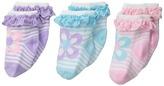 Jefferies Socks Daisy Eyelet 3-Pack (Infant/Toddler)