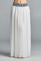 Velzera Pleated Maxi Skirt
