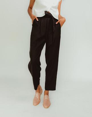 Madewell Madri Collection Brava Pants