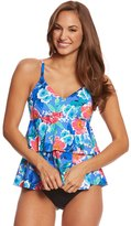 Penbrooke Garden Beauty Tiered Tankini Top 8150433