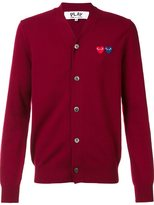 Comme des Garcons 'Double Heart' cardigan - men - Wool - M