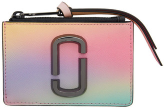 Marc Jacobs Multicolor Small Snapshot Top Zip Card Holder