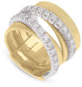 Marco Bicego Masai Ring with Diamonds in 18K Yellow Gold