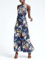Banana Republic Bold Floral Maxi Dress