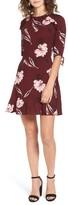 BP Women's Tie Detail Cutout Dress