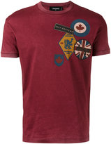 DSQUARED2 patch print T-shirt - men - Cotton - S