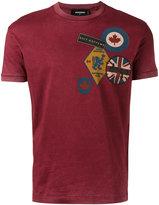 DSQUARED2 patch print T-shirt - men - Cotton - XXL