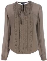 Ralph Lauren ruffled blouse