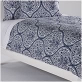 Ethan Allen Danika Printed Daybed Cover, Navy