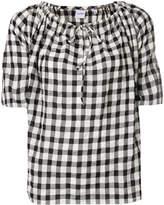 Aspesi vichy print blouse