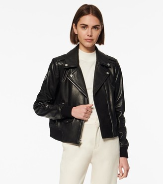 Andrew Marc Sandino Leather Moto Jacket