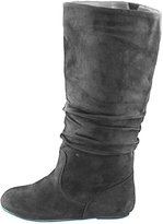 Women's Top Moda Data-1 Round Toe Mid High Boots Shoes