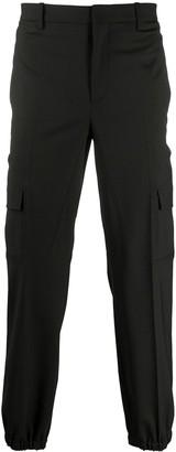 Neil Barrett Elasticated Ankles Cargo Trousers