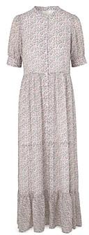 Notes du Nord Posh Floral Print Maxi Dress