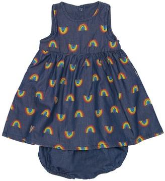 Stella Mccartney Kids Cotton Chambray Dress & Diaper Cover
