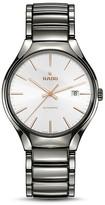 Rado True Automatic Plasma Ceramic White Dial Watch, 40mm